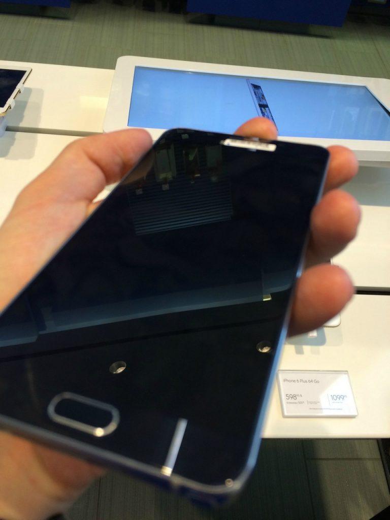 Samsung Galaxy Note 5 mit 4 GB RAM und 5,6 Zoll Display 16