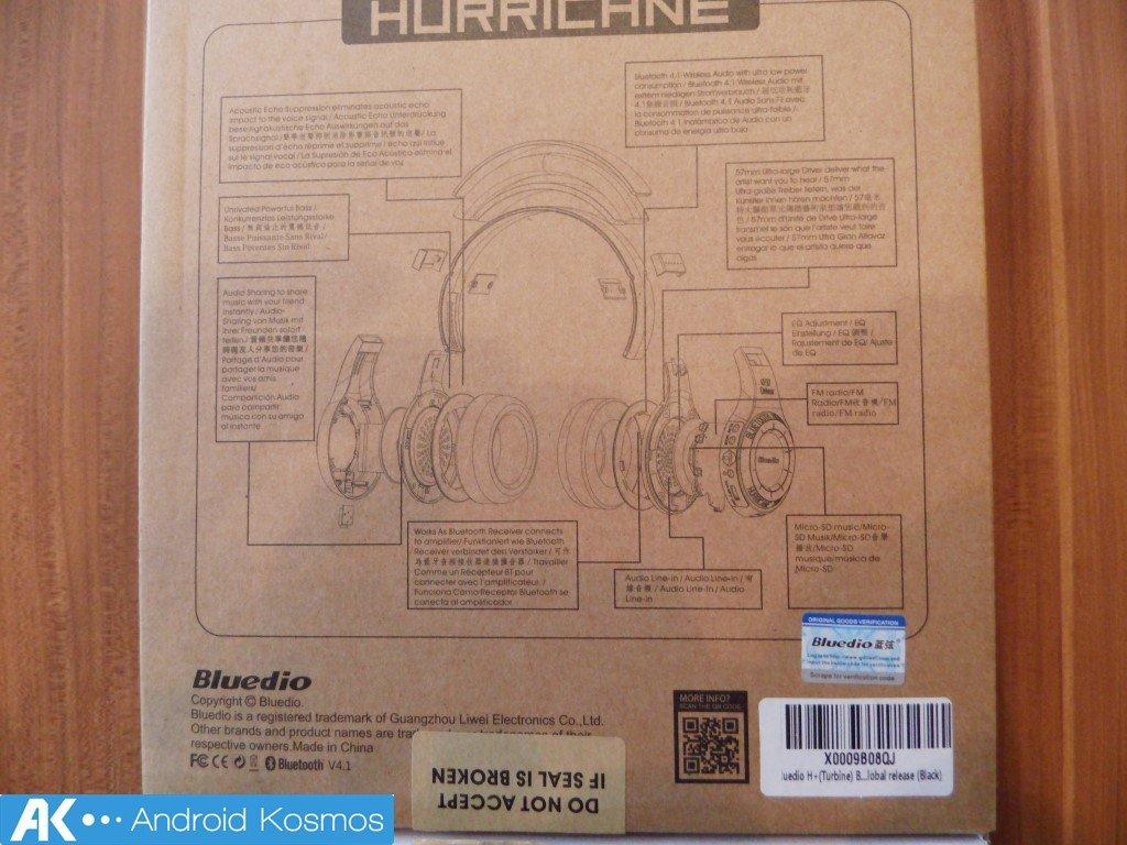 Bluedio H+ Turbine Test: Bluetooth-Kopfhörer mit FM-Radio und SD-Slot 1