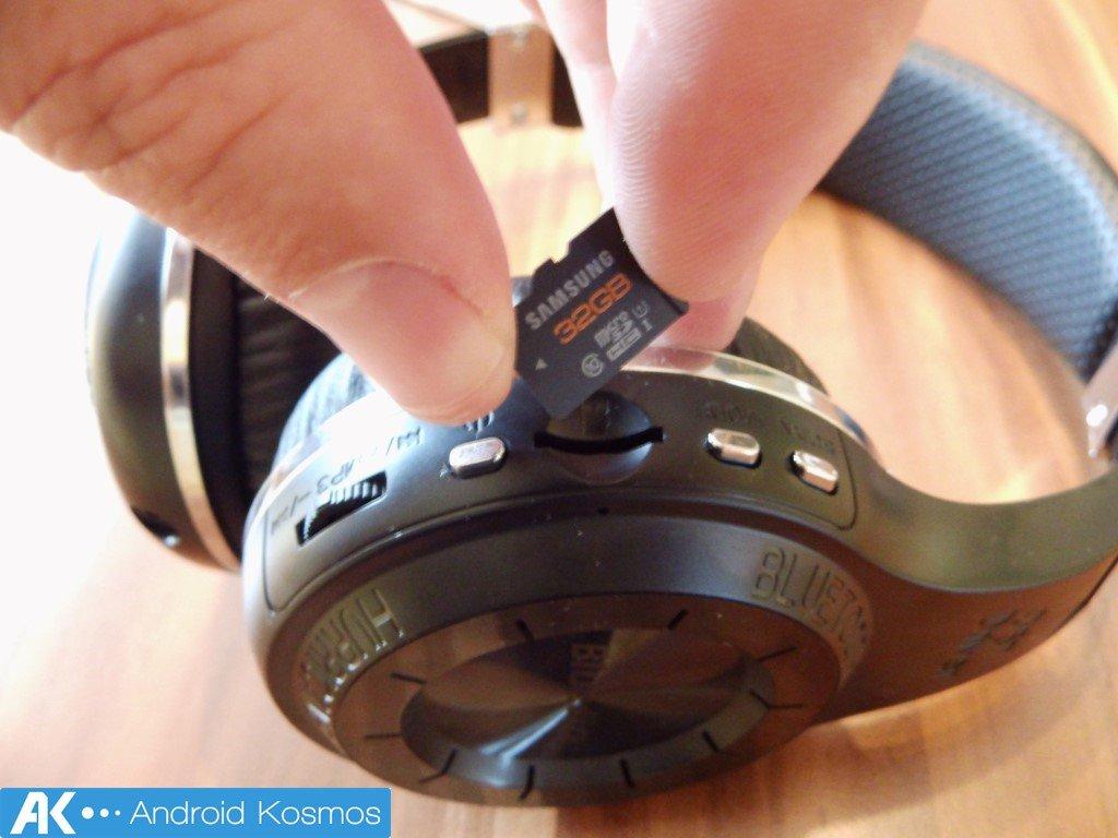 Bluedio H+ Turbine Test: Bluetooth-Kopfhörer mit FM-Radio und SD-Slot 25