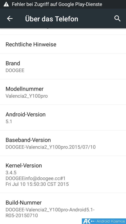 Doogee Y100 Pro Test: 5 Zoll Smartphone mit Metallgehäuse für 100 Euro 39