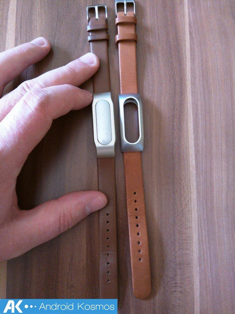 Kurzreview: Xiaomi Mi Lederarmband im Vergleich mit dem inoffiziellen Nachbau 17