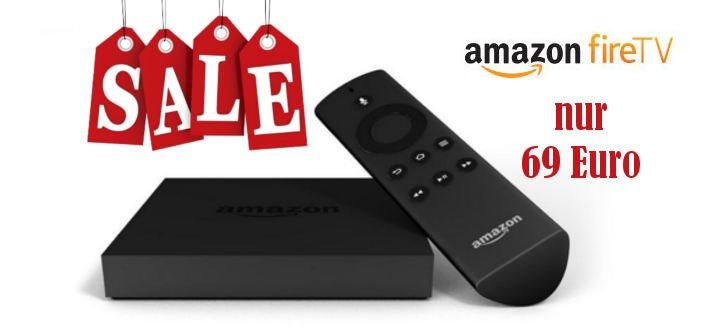 Angebot: Amazon Fire TV gibt es nur heute für 69 Euro 2