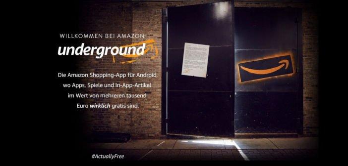 """Gratis-App des Tages wird ersetzt durch """"Amazon Underground"""" (Update 27.08.2015) 8"""