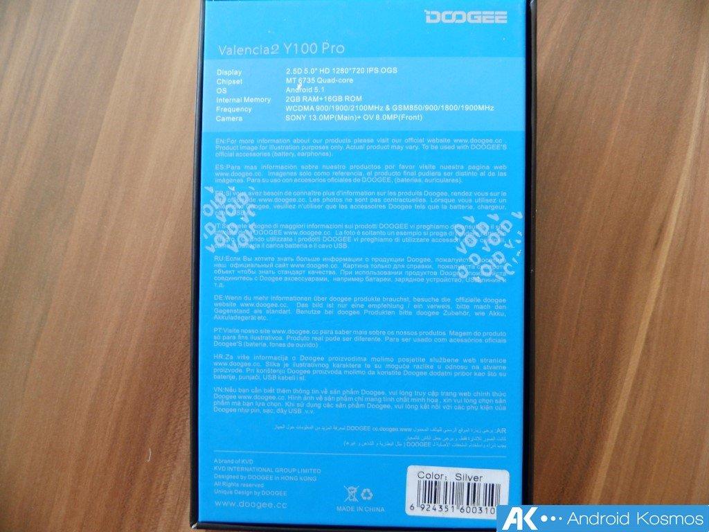 Doogee Y100 Pro Test: 5 Zoll Smartphone mit Metallgehäuse für 100 Euro 5