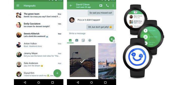 App: Google Hangouts 4.0 ist erschienen 1