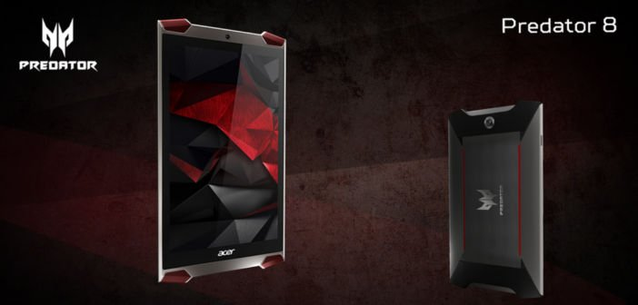 AndroidKosmos | IFA2015: Acer stellt Predator Tablet und Smartphone vor, eine Serie speziell für Gamer 2