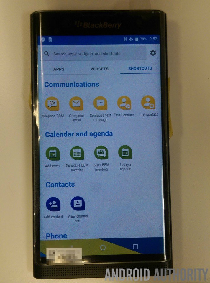 BlackBerry Priv: Android-Slider Smartphone im offiziellen Hands-On Video 7