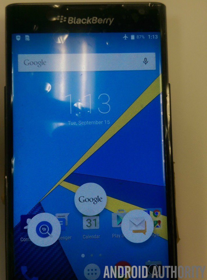 BlackBerry Priv: Android-Slider Smartphone im offiziellen Hands-On Video 9