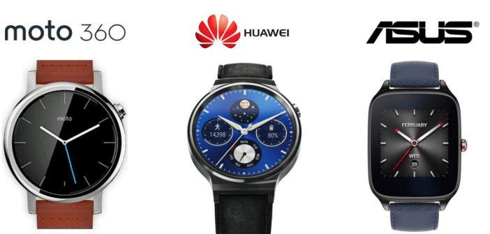 IFA2015: Die neue Smartwatches Moto 360, ASUS ZenWatch 2 und Huawei Watch im Überblick 1
