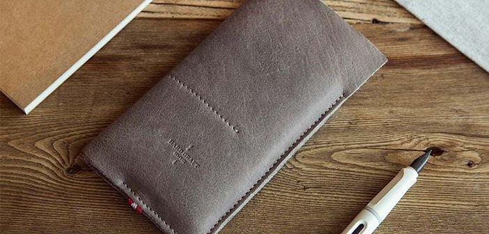 OnePlus Two Zubehör: neue Tasche aus italienischen Leder vorgestellt 5