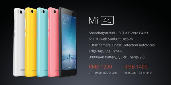 Xiaomi Mi 4c: Flaggschiff mit Snapdragon 808 und USB Typ C jetzt ab 214€ im Vorverkauf 20