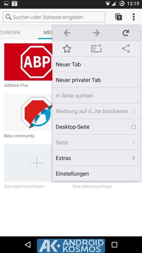 AdBlock Plus veröffentlicht eigene Browser-App für iOS und Android 9