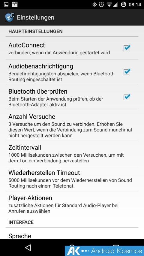 Tipp: Sprachnachrichten, Aufnahmen und Musik via Bluetooth Kopfhörer 7