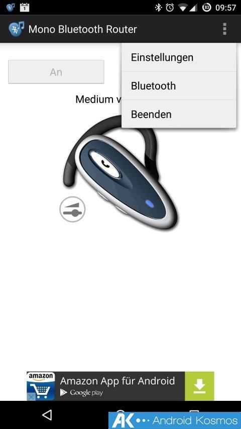 Tipp: Sprachnachrichten, Aufnahmen und Musik via Bluetooth Kopfhörer 10