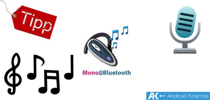 Tipp: Sprachnachrichten, Aufnahmen und Musik via Bluetooth Kopfhörer 2