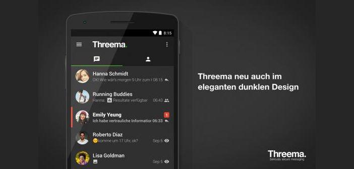 Update für Threema Messenger auf Android erhält dunkles Design und mehr 1