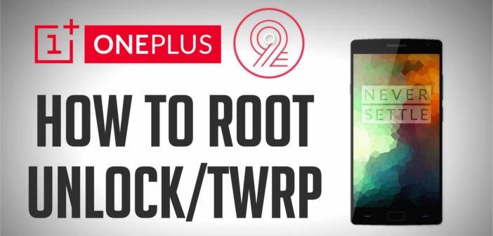 Anleitung: Unlock, Root und TWRP-Recovery für das OnePlus 2 1