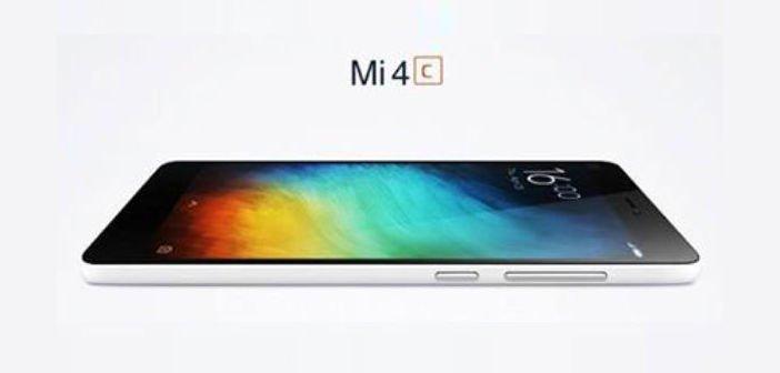 Xiaomi Mi4C kommt vielleicht am 22. September mit 5 Zoll FullHD, Snapdragon 808, 2GB RAM 4