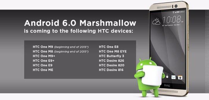 HTC: Diese Geräte bekommen das Update auf Android 6.0 Marshmallow 2