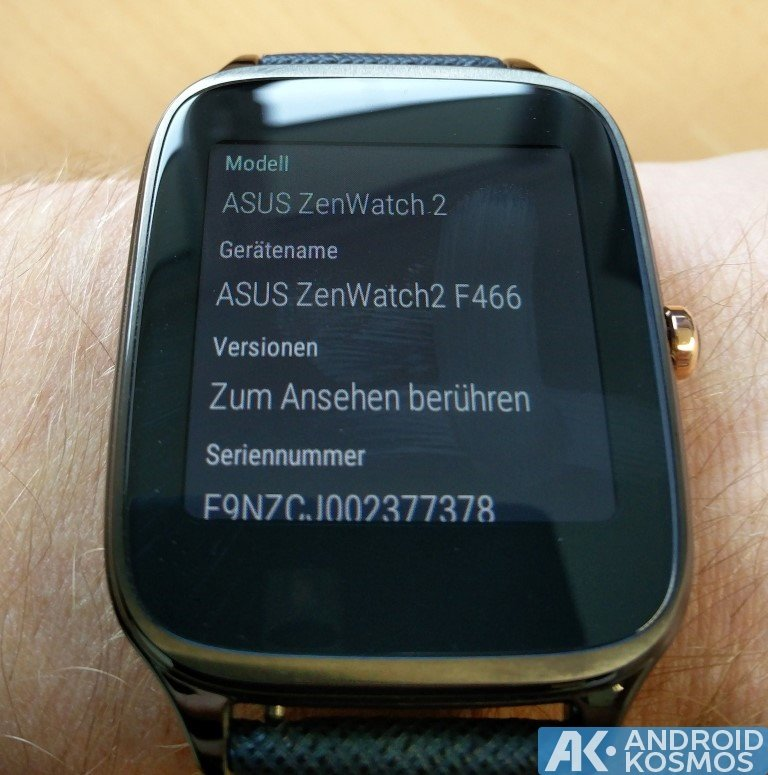Test / Review: ASUS ZenWatch 2 (WI501Q) Smartwatch mit unboxing Video 42