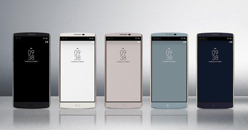 LG V10 mit zweiten Display und Dual-Frontkamera offiziell vorgestellt 1