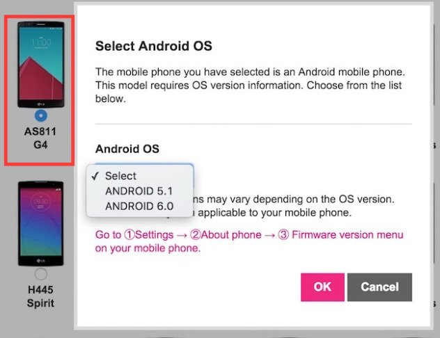 LG: Diese Geräte sollen das Update auf Android 6.0 Marshmallow bekommen 2