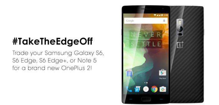 Verrückte Aktion: Tausche dein Samsung Galaxy S6, S6 Edge, S6 Edge+ oder Note 5 gegen ein OnePlus Two 5