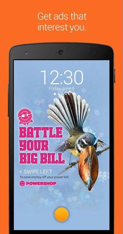 Skinny Collect: Lockscreen Werbung auf dem Smartphone gegen Freiminuten oder Datenvolumen 5