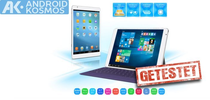 Test / Review: Teclast X98 Pro 9,7 Zoll Tablet mit Dual-Boot Windows 10 + Android 5.1 56