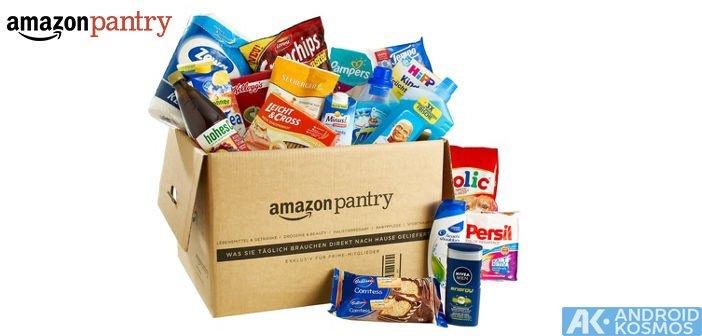 Amazon Pantry - Lebensmittel und Haushaltswaren einfach nach Hause liefern lassen 1