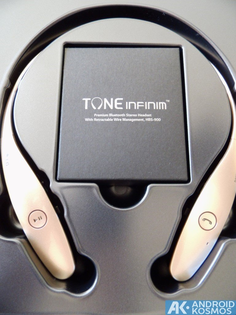 Test / Review: LG Tone Infinim HBS-900  - Bluetooth Kopfhörer 5