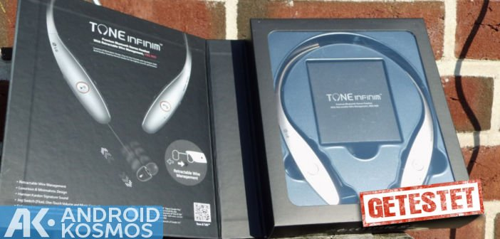 Test / Review: LG Tone Infinim HBS-900  - Bluetooth Kopfhörer 2
