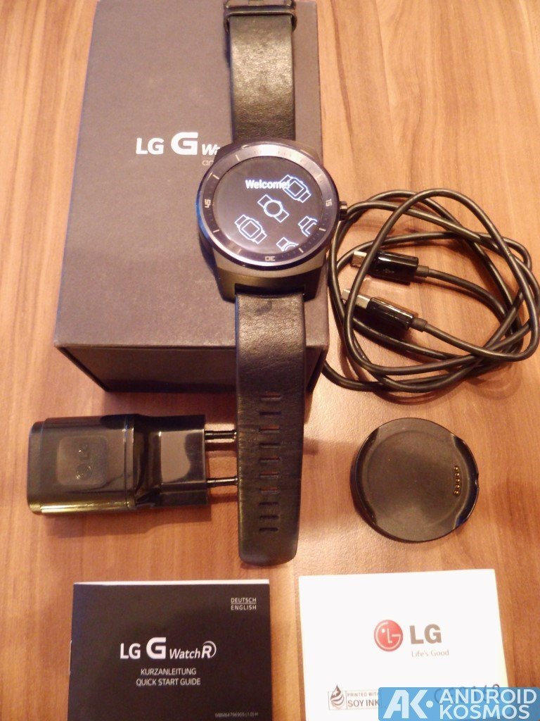 "Test / Review: LG G Watch R Smartwatch - ""Eine absolut runde Sache"" 6"