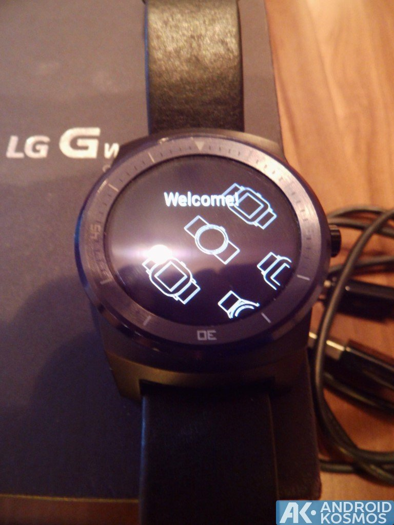 "Test / Review: LG G Watch R Smartwatch - ""Eine absolut runde Sache"" 7"
