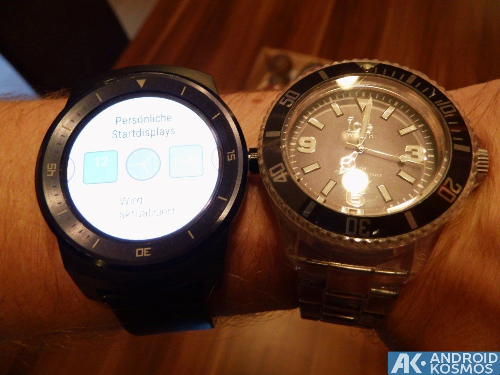 "Test / Review: LG G Watch R Smartwatch - ""Eine absolut runde Sache"" 22"