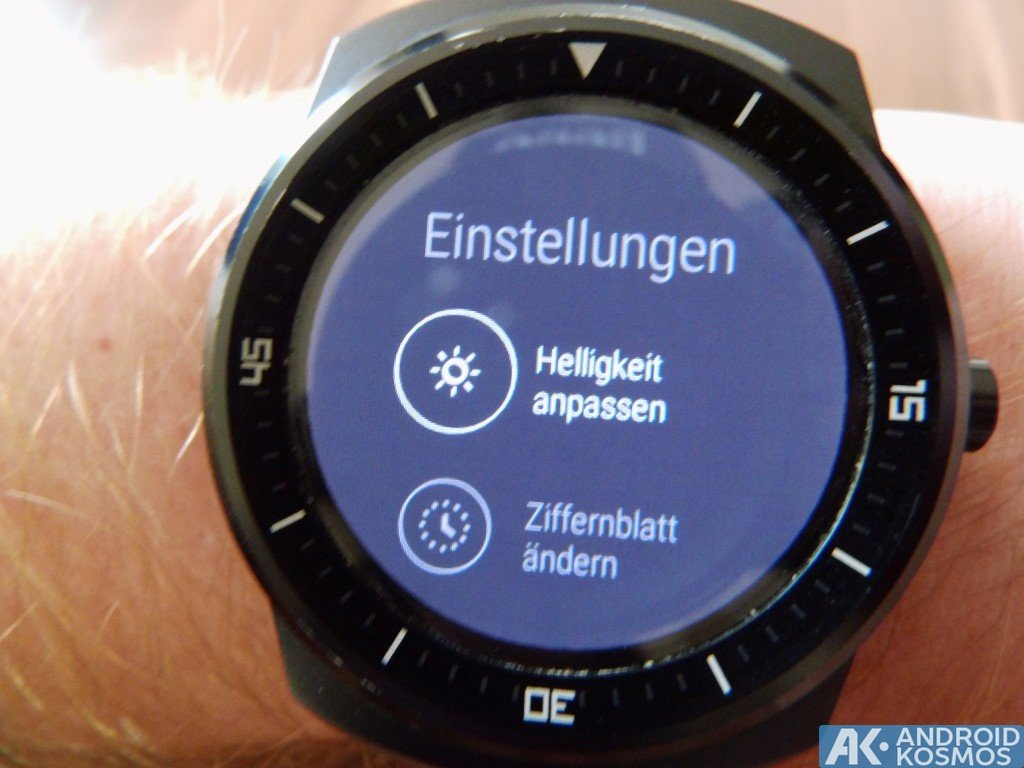 "Test / Review: LG G Watch R Smartwatch - ""Eine absolut runde Sache"" 36"