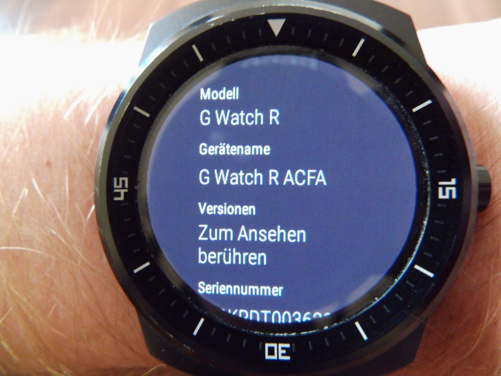 "Test / Review: LG G Watch R Smartwatch - ""Eine absolut runde Sache"" 37"