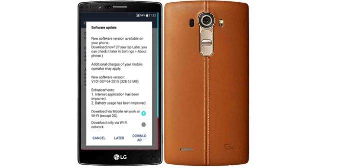 LG G4 Update V10f gegen das Akkulaufzeit-Problem 1