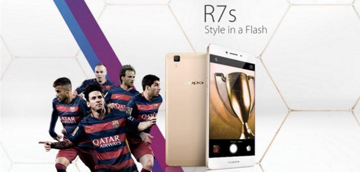 Oppo R7s - 5,5 Zoll Smartphone mit Snapdragon 615 offiziell vorgestellt 1