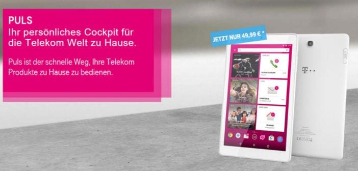 Telekom's eigenes PULS Android-Tablet ab jetzt für 49,99 Euro erhältlich 1