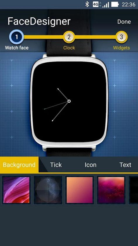 ZenWatch Watchface/Designer-App von ASUS veröffentlicht 5