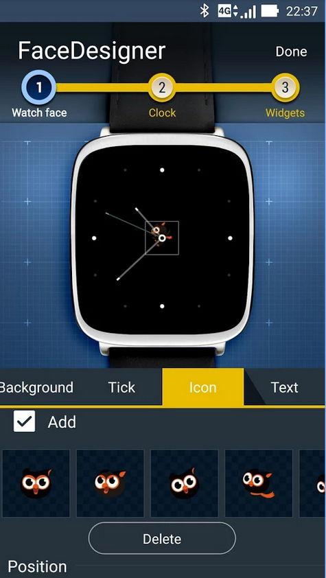 ZenWatch Watchface/Designer-App von ASUS veröffentlicht 6