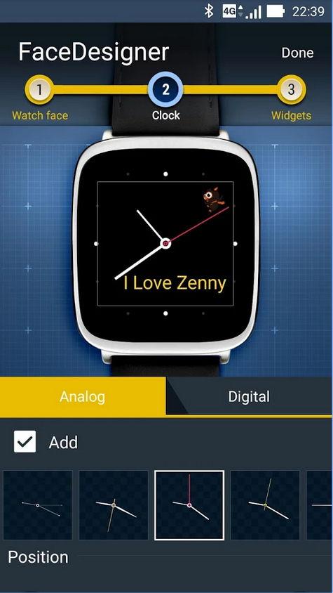 ZenWatch Watchface/Designer-App von ASUS veröffentlicht 7