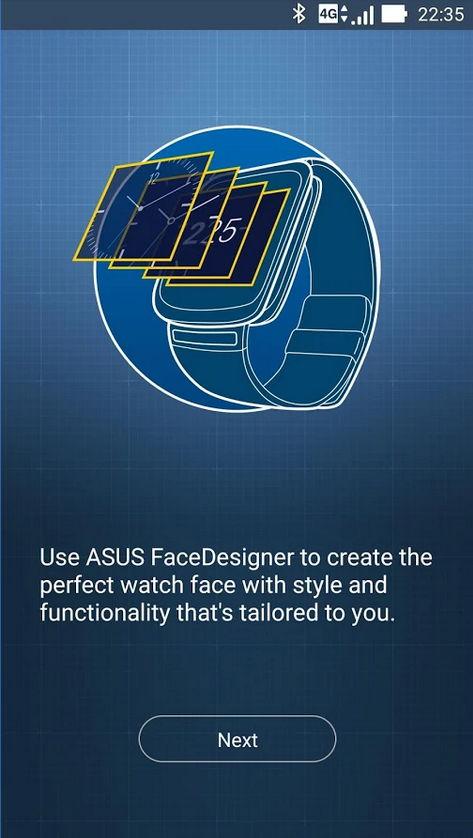 ZenWatch Watchface/Designer-App von ASUS veröffentlicht 2