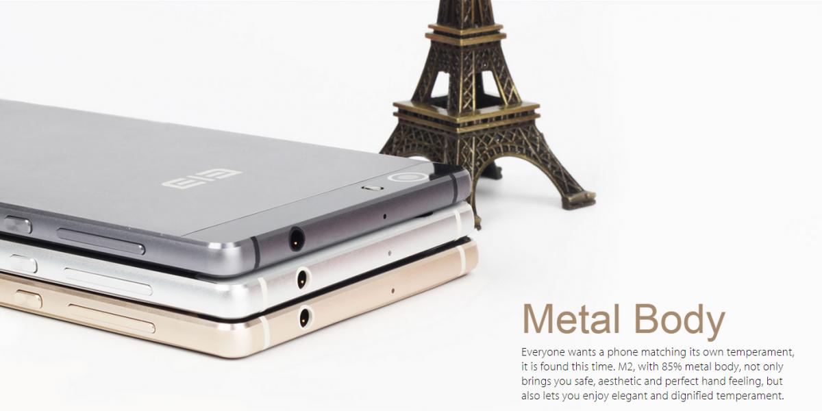 Elephone M2: 5,5 Zoll Smartphone aus Metall erhältlich und bald mit FlymeOS 6