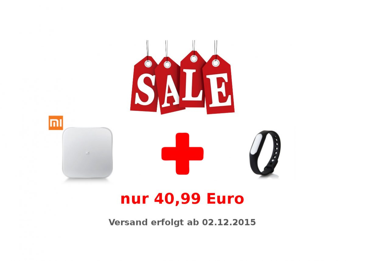 AndroidKosmos | Partner-Angebot: Xiaomi Mi Smart Scale Waage + Mi Band für nur 40,99 Euro kaufen 4
