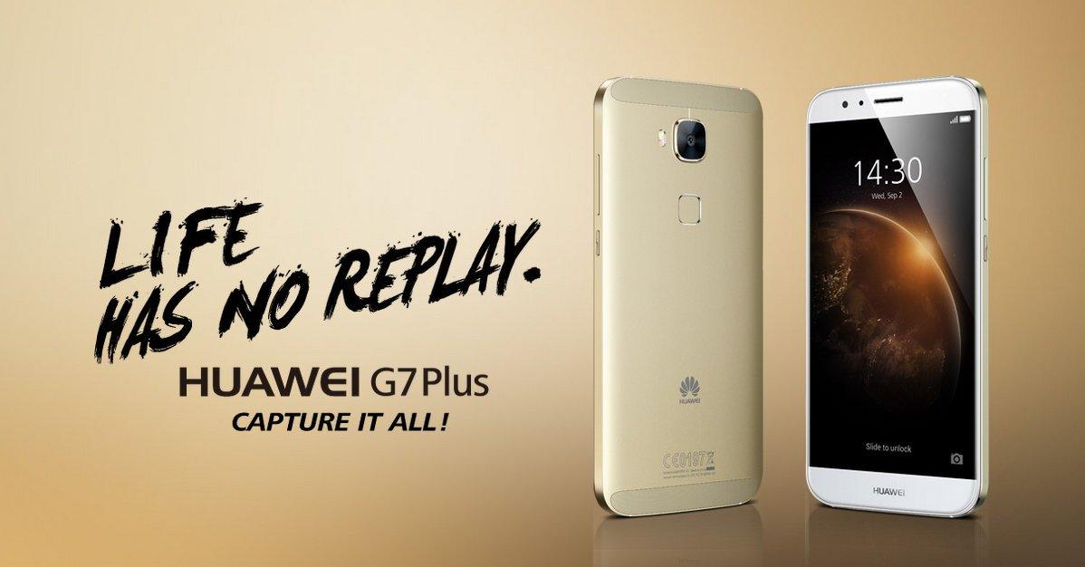 Huawei G7 Plus: neues Mittelklasse-Smartphone offiziell vorgestellt 1