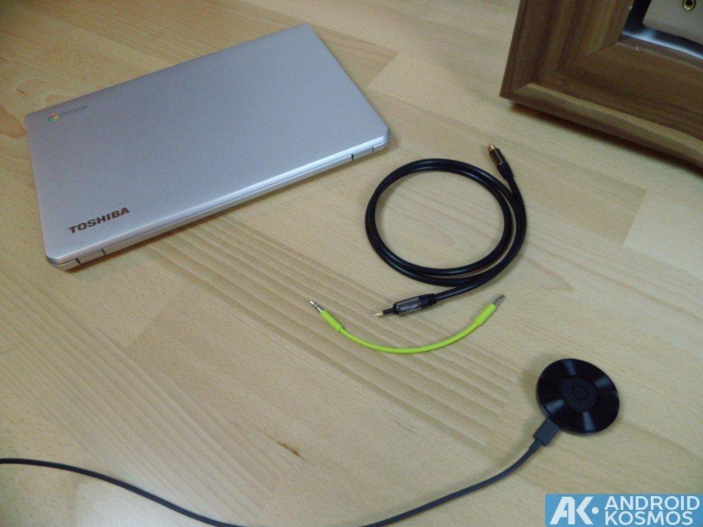 Anleitung/Test: Chromecast Audio macht alte Stereo-Anlagen wieder smart 41