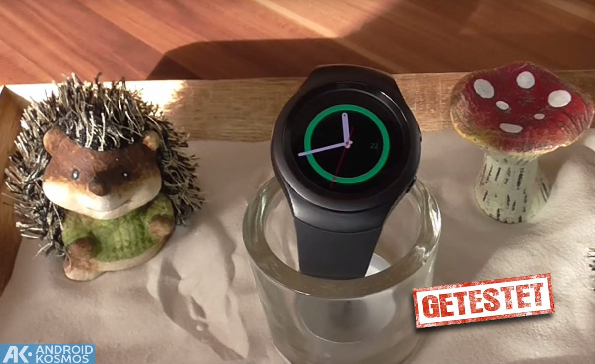 AndroidKosmos | Test / Review: Samsung Gear S2 Smartwatch mit unboxing & Hands-On Video 1