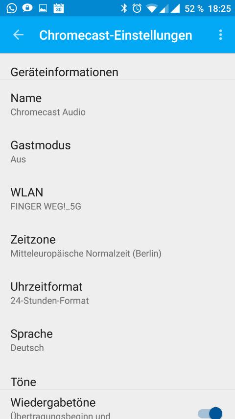Anleitung/Test: Chromecast Audio macht alte Stereo-Anlagen wieder smart 38